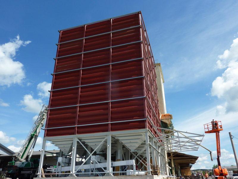 Damwand silo