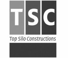TSC logo black white