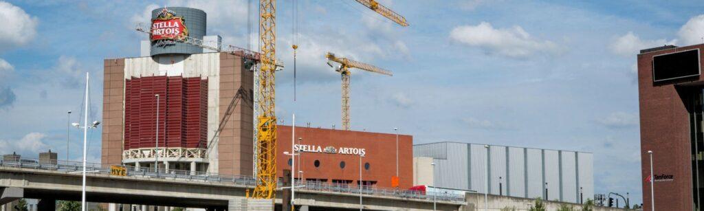Stella Artois Leuven expansion uitbreiding TSC Silos AB InBev