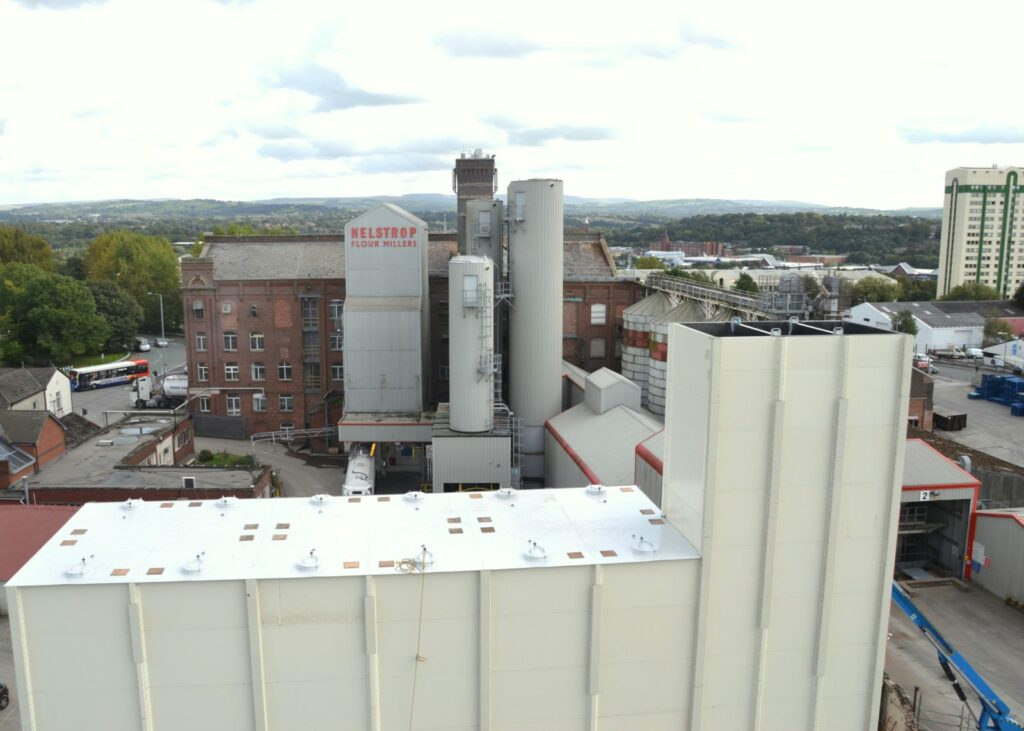 Nelstrops Flour Millers | Stockport | TSC | Square Silo