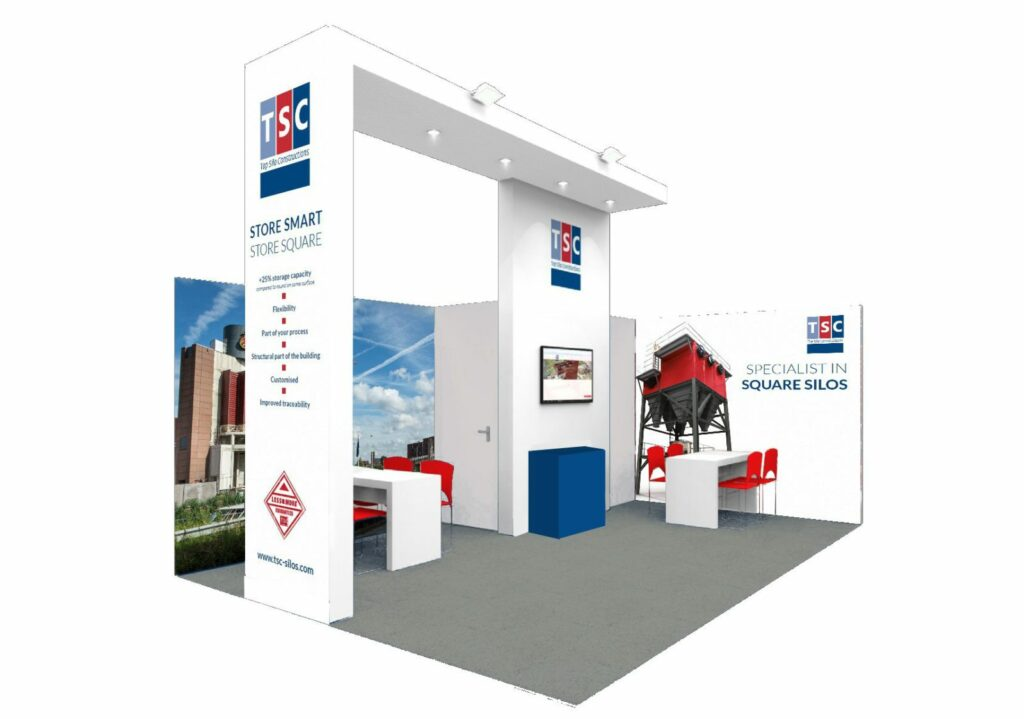 TSC booth at the POWTECH 2017