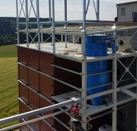 eckige silos TSC