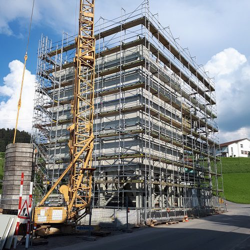 TSC Silos - feed mill Geissbühler Mühle